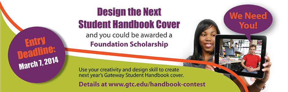 Student Handbook Cover Design Contest