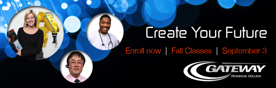 Create Your Future. Enroll Now.