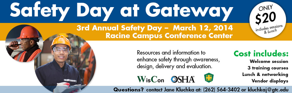 Safety Day at Gateway