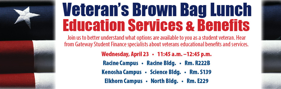 Veteran Brown Bag Lunch Series - Education Services