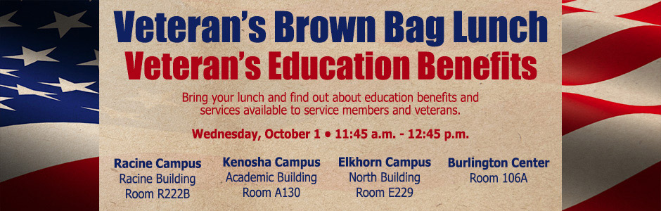 Veteran's Brown Bag Lunch