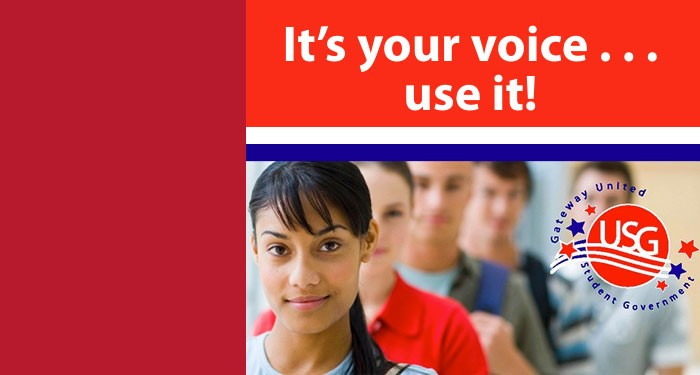 USG - It's your voice... use it!