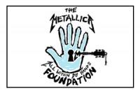 Metallica All In Your Hands logo