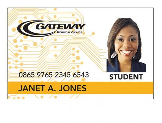 Student ID Card Sample