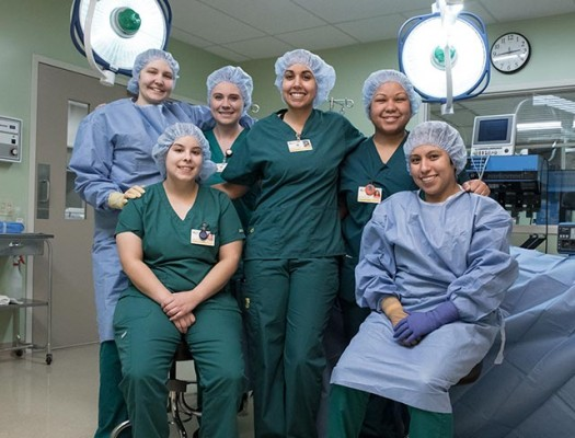 Surgical Technology Students
