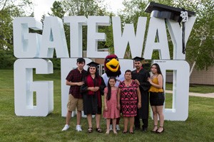 GED Graduates with Rudy