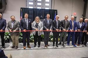 SC Johnson iMET expansion ribbon cutting event