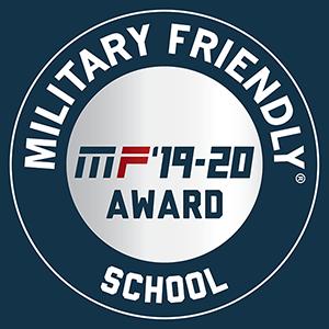 Military Friendly School - 2019-2020 award