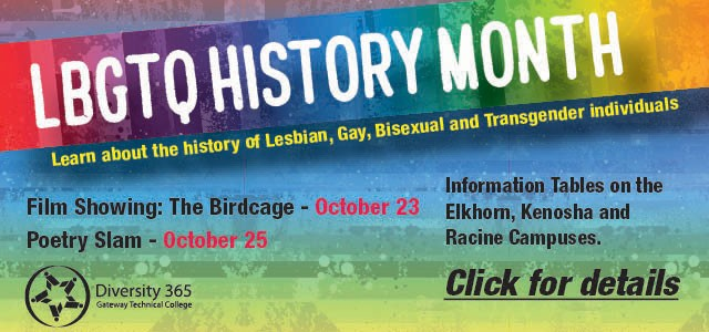 LBGTQ History Month. Learn more.