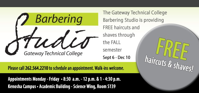 Barbering Studio - Free Haircut or Shave