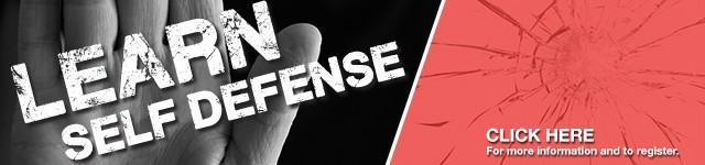 Self-defense classes. Learn more.