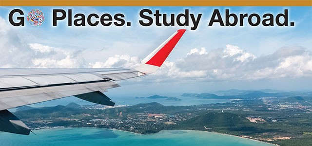 Go Places. Study Abroad.
