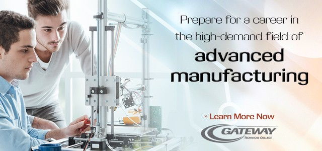 Prepare for a career in the high-demand field of advanced manufacturing. Learn more.