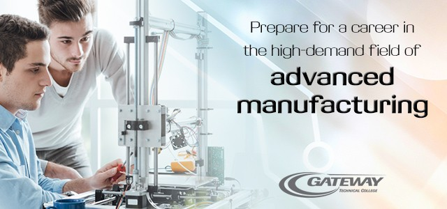 Prepare for a career in the high-demand field of advanced manufacturing.
